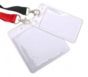 Clear Vinyl Wallets