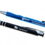 Engraved metal pens