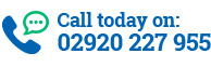 Call today on: 02920 227 955