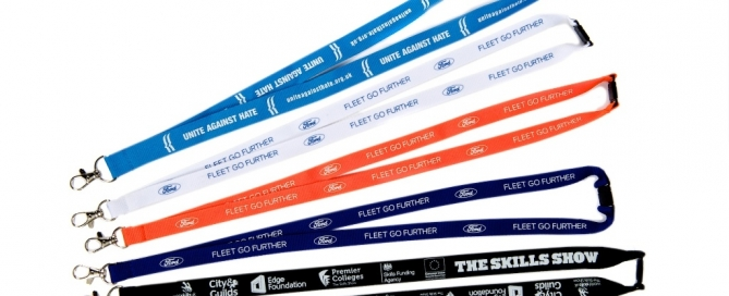 Custom Printed Lanyards for Various Company Promotions