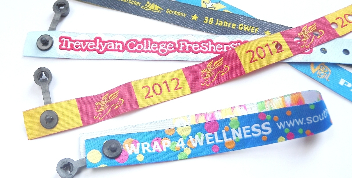 Fabric Wristbands with Clip