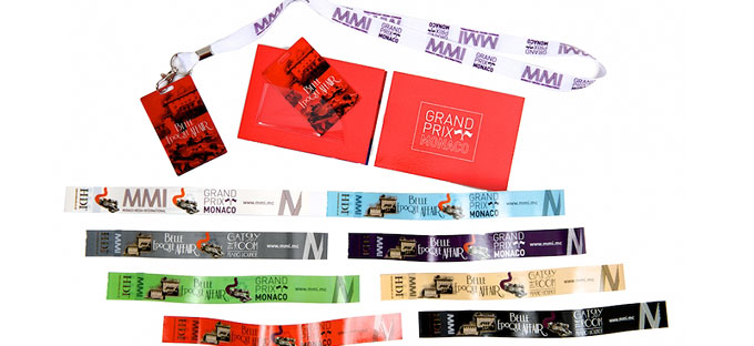 Sponsored Event Products - Wristbands, Lanyards
