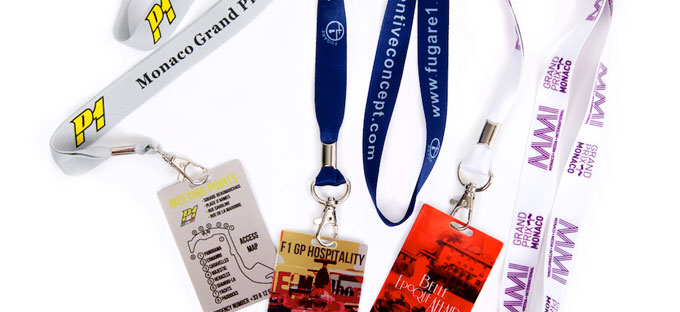 designer lanyards & passess