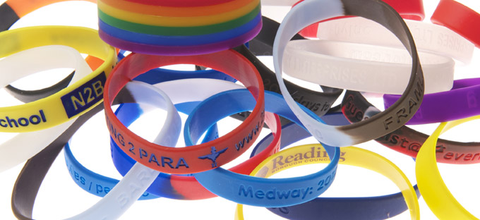 The end result is exciting silicone wristbands