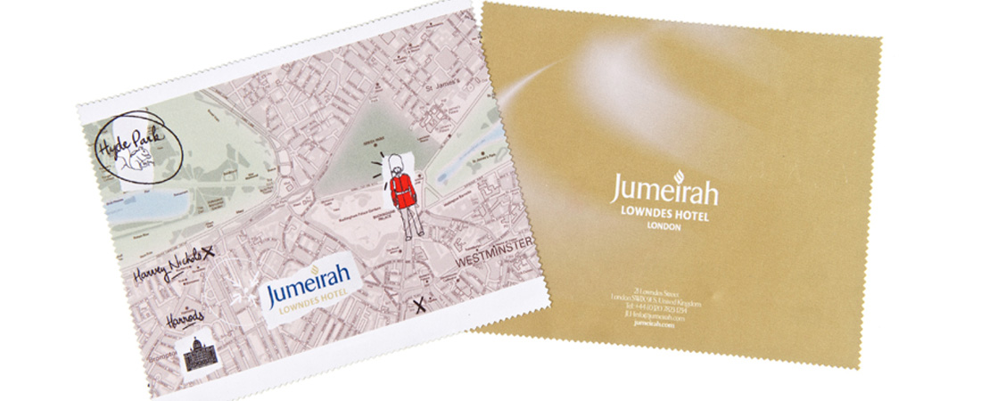 Jumeirah double sided print
