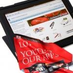 iPad Microfibre cloth
