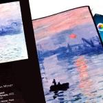 Microfibre iPad cover
