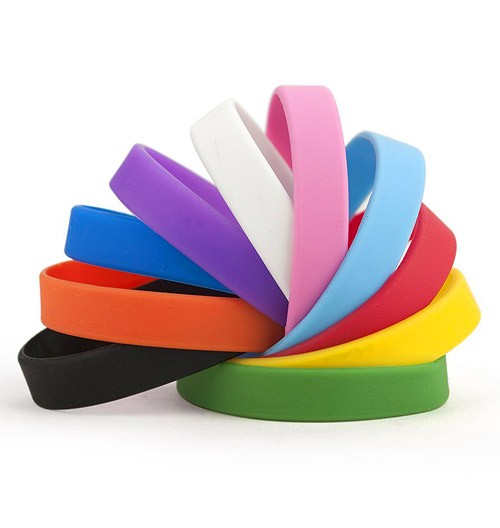 silicone screen wristband bands large printed silicon wristbands bracelets