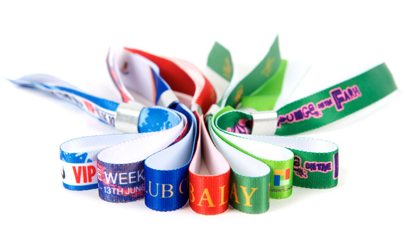 Design Your Own Fabric Wristbands & Order Online