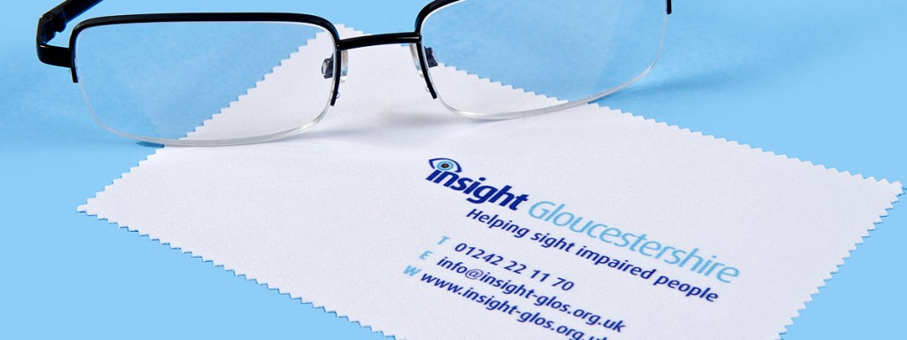 Branded lens cleaning cloths are an excellent promotional product.