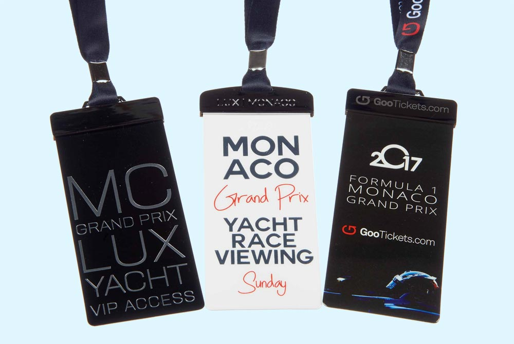VIP lanyards can provide access for important guests.