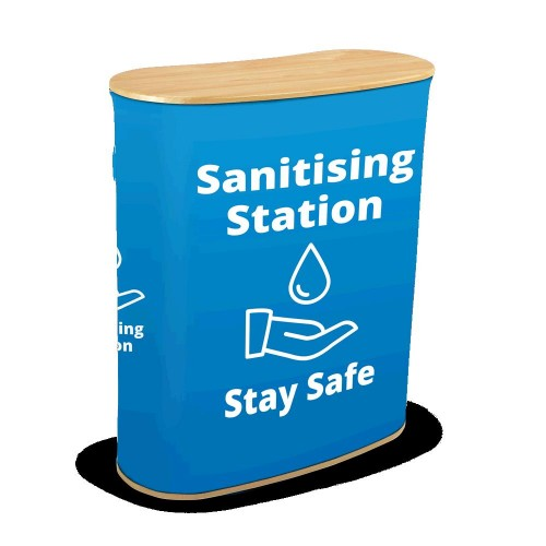 Sanitising Station - blue