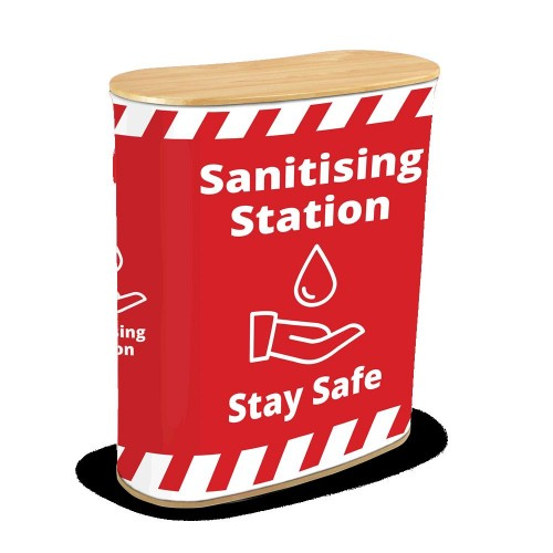 Sanitising Station - red